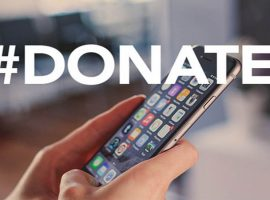 Use hashtags to support charities online